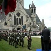 L'assemblée et le 501è/503è Régiment de Chars de Combat