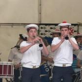 Le concert du Bagad de Lahn-Bihoué