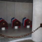 La crypte au mémorial du Mont Valérien