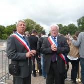 Les élus Denis van Gysel et Gérard Goin