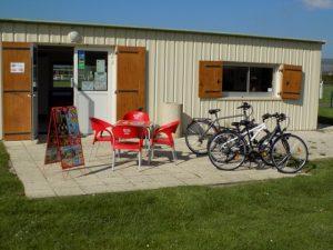 Les vélos en location au camping