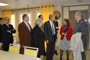 Inauguration foyer d'accueil médicalisé pour handicapés de Dormans
