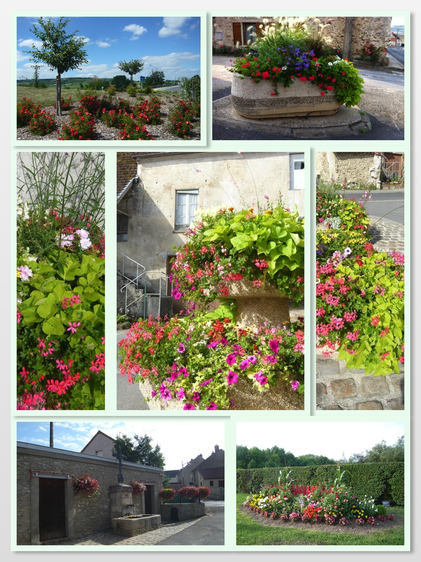 Fleurissent des hameaux de Chavenay, Try, Vassieux