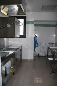 Les locaux de la cuisine