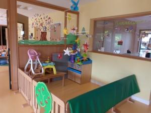 Crèche de Dormans : des espaces clairs