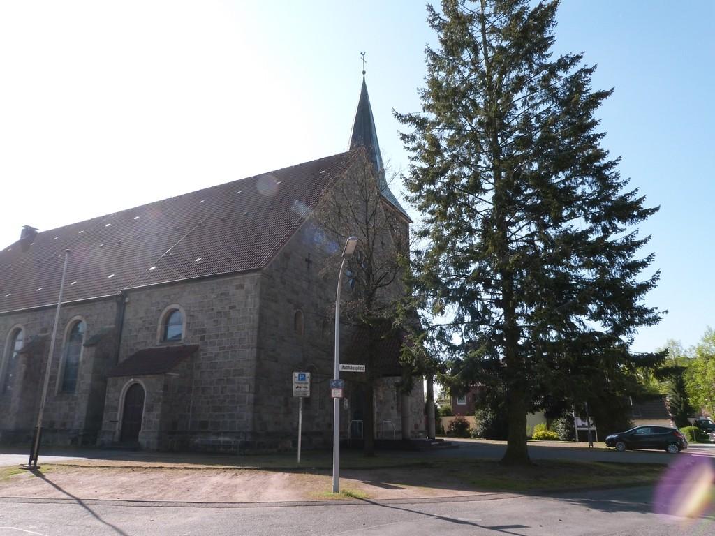 L'église du village de Wulfen