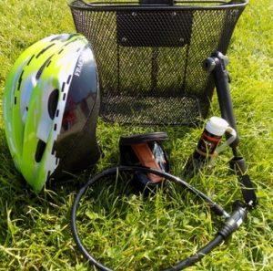 l'équipement des vélos au camping