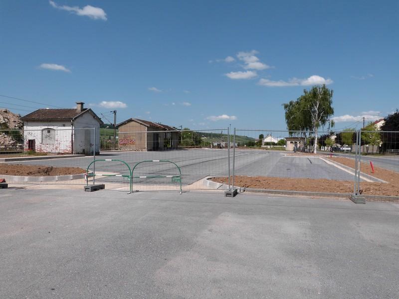 Extension du parking de la gare sncf de dormans for Extension travaux