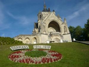 Fleurissement de Dormans, été 2014, Mémorial des Batailles de la Marne