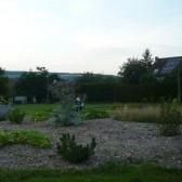 Le jardin de l'école maternelle