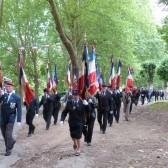Des porte-drapeaux d'Épernay et sa région
