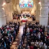 Célébration de la messe pour les morts et pour la France