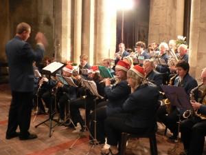 concert de la Musique municipale de Dormans pour le téléthon de 2009
