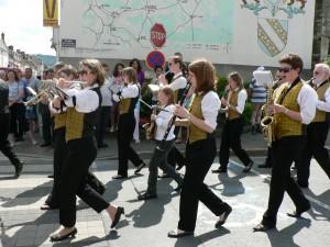 Musique municipale de Dormans au défilé du 14 juillet
