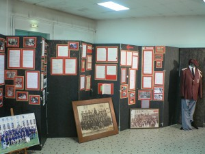 Exposition du centenaire à la salle des fêtes de Dormans