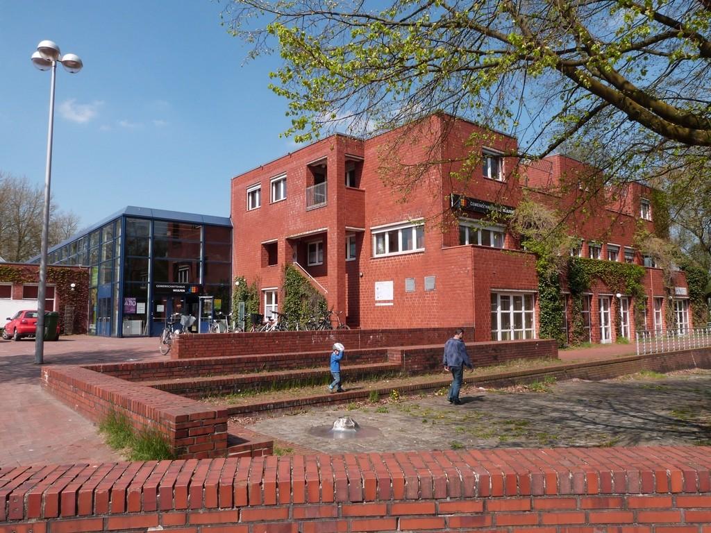 Centre culturel du quartier Wulfen-Barkenberg, Dorsten, Allemagne