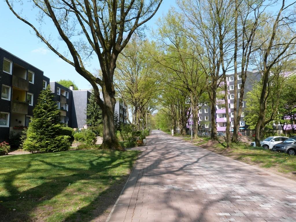 Chemin pour piétons et vélos, Wulfen-Barkenberg, Dorsten
