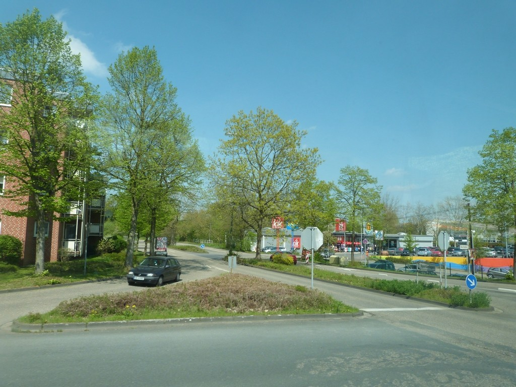 Wulfen-Barkenberg : commerces accessibles en voiture