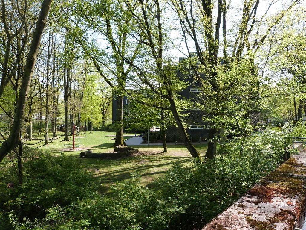 Wulfen-Barkenberg : jardins au pied des habitations