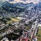 Vue aérienne de Dormans