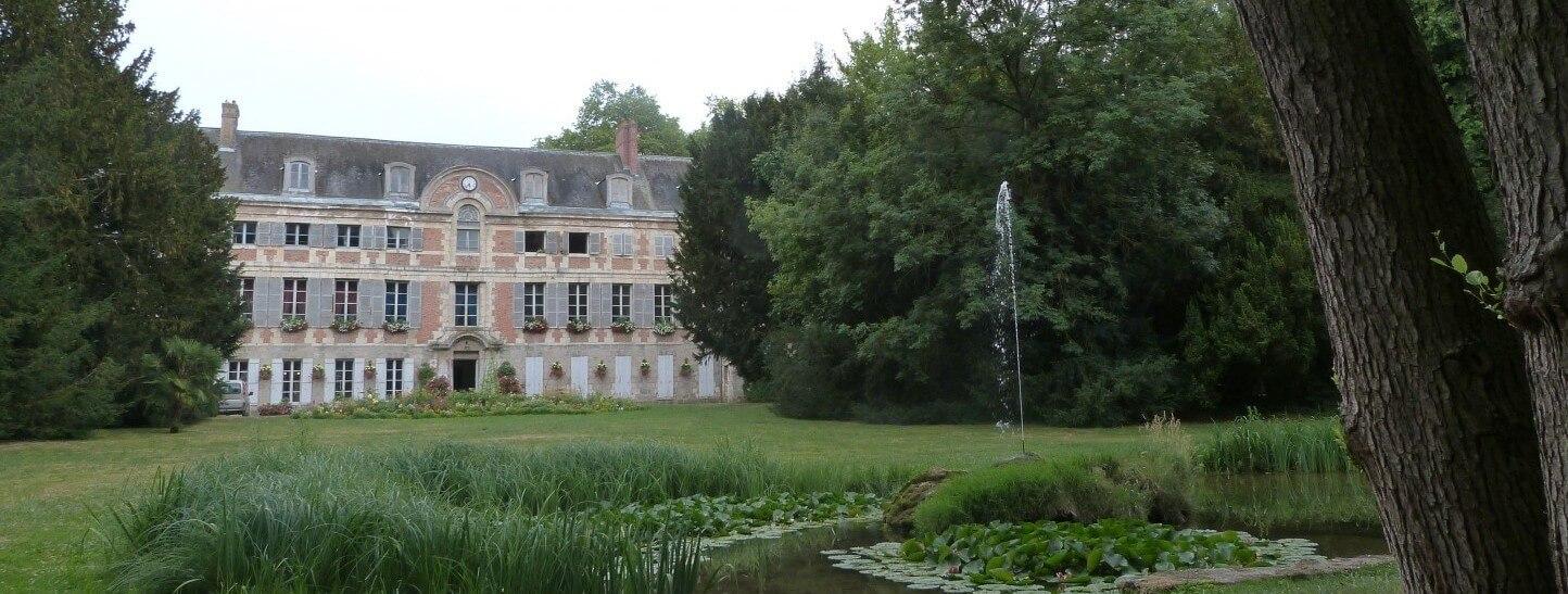 Parc et château de Dormans