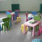 Tables et chaises pour les plus grands