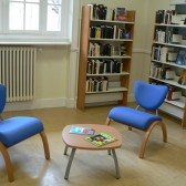 La bibliothèque côté adultes