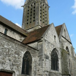 L'église de Dormans