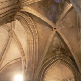 Voûte du chœur gothique de l'église de Dormans