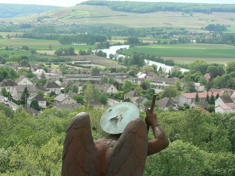 Un aperçu de la vue depuis la tour du Mémorial