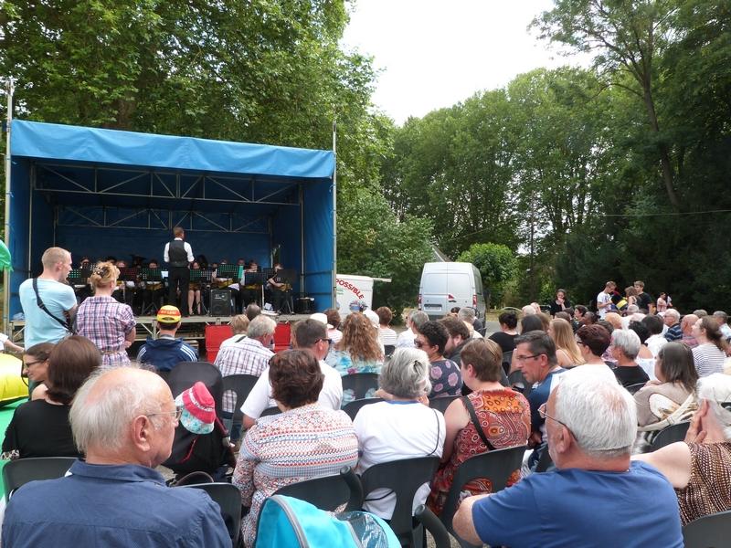 14 juillet 2015 : le concert de la musique municipale de Dormans
