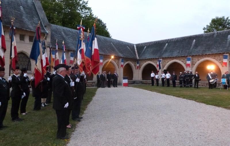 Commémoration de l'appel du 18 juin au Mémorial de Dormans