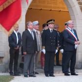 Les autorités présentes lors des cérémonies du 18 juin 2015 à Dormans