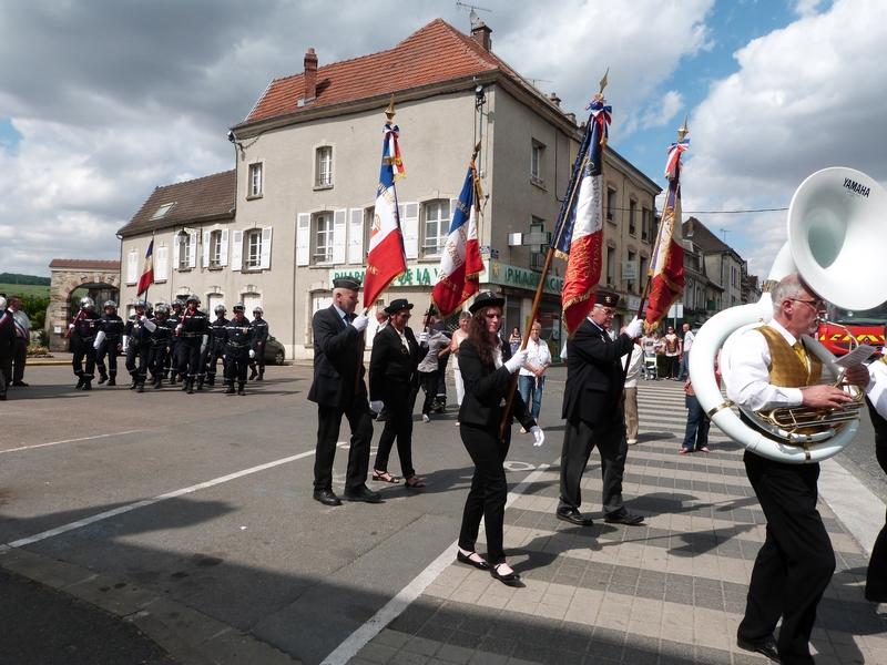 14 juillet 2015 à Dormans : le défilé