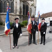 3 générations de porte drapeaux à Dormans