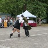 Festival Dormantastique démonstration d'escrime