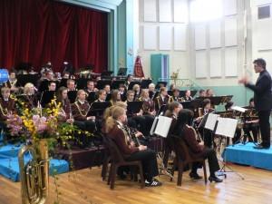 Les jeunes allemands de l'ensemble de la Blasmusik de Wulfen