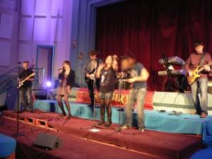 Concert de rock du groupe Chopstixx