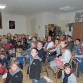 11 novembre 2014 - les enfants rassemblés avant la projection du film