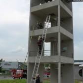 Centre de Secours de Dormans, journée porte ouverte du 12 juin 2010, le feu est éteint