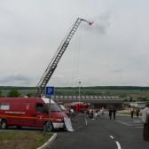 Centre de Secours de Dormans, journée porte ouverte du 12 juin 2010, véhicules d'intervention exposés