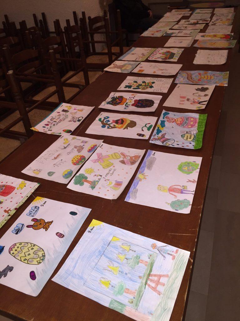 Un choix difficile lors de la sélection pour l'animation de Pâques au marché de Dormans