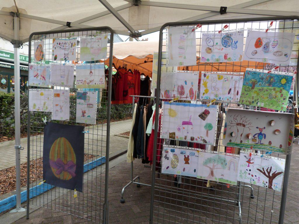 Les 20 dessins sélectionnés lors de l'animation de Pâques au marché de Dormans