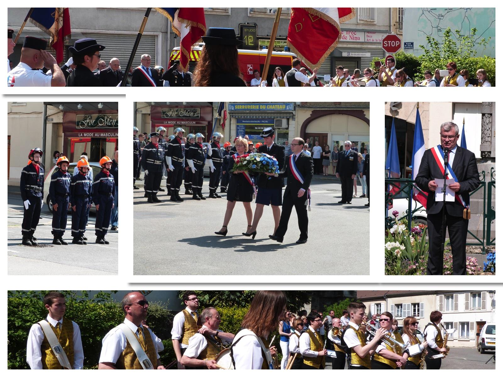cérémonies du 8 mai 2016 à Dormans