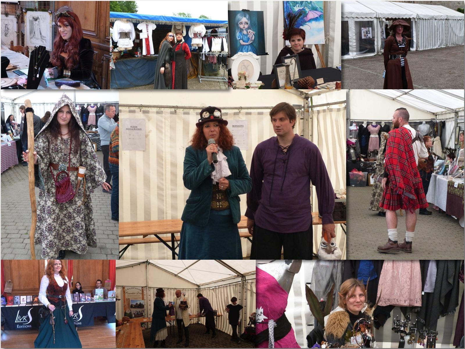 Les différents personnages croisés lors du festival Dormantastique acteII