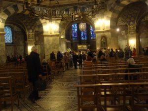 l'intérieur de chapelle palatine
