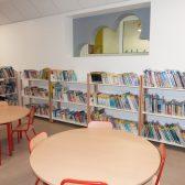 La nouvelle salle de bibliothèque-salle informatique de l'école des Erables à Dormans