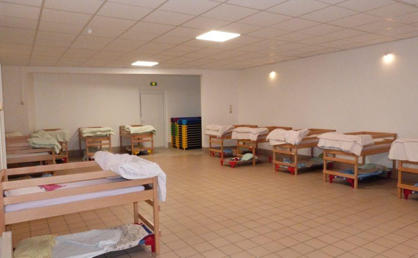le nouveau dortoir de l'école des Erables à Dormans