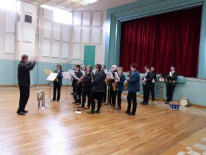 Aubade de la musique municipale 11 novembre 2016 à Dormans