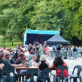 Un cadre convivial au festival Rock'n Dormans memories